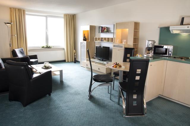 2-Raumapartment Wohnzimmer