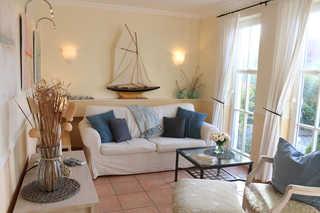 Ferienwohnung - Kleiner Seeigel Wohnzimmer