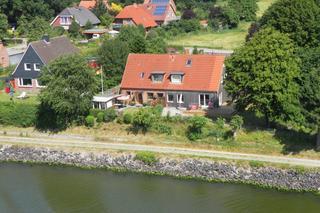 RED Ferienhaus am Nord-Ostsee-Kanal Haus direkt am Nord-Ostsee-Kanal