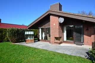 Ferienhaus Kenter Tossens Die Außenansicht des schönen Ferienhauses.