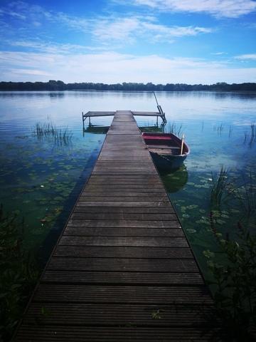 Der Bootssteg