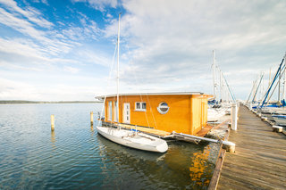 Komfort-Hausboot I Aussenansicht
