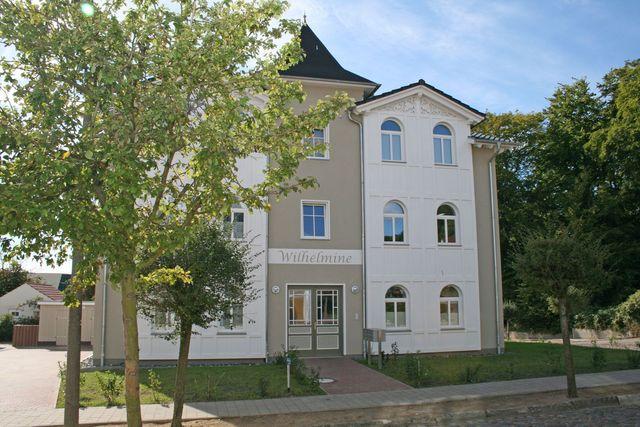 H: Villa Wilhelmine Whg. 04 mit Balkon Außenansicht
