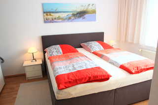 Ferienwohnungen Sonnenschein (HS) Schlafzimmer