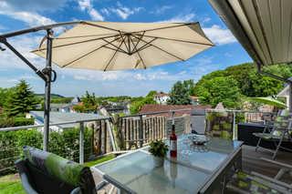 Doppelhäuser Zinglingsberg - Weitblick über Schmachter See Balkon