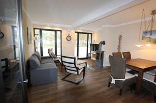 Strandresidenz Appartement Schwarzkopfmöwe V08 in Prora Wohnbereich