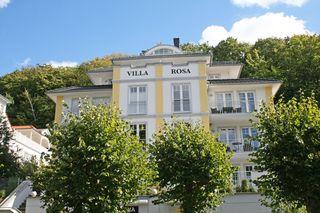 H: Villa Rosa Whg. 09 StrandGut mit Nord/West Terrasse Außenansicht