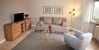 Ferienwohnung zur großen Buche EG Wohnzimmer