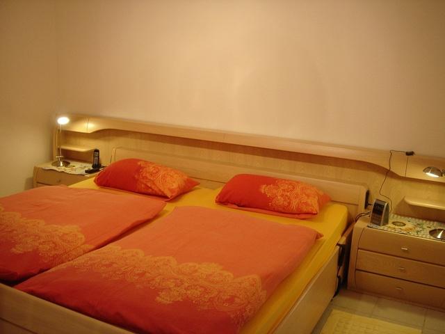 Schlafzimmer Ferienwohnung 9