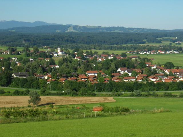 Oberhausen Ortsbild