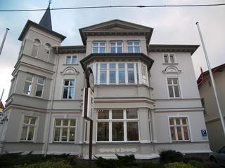 Villa Viktoria *100m vom Ostseestrand entfernt* Hausansicht