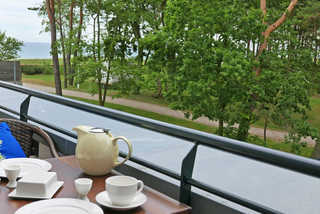 Baabe Inselparadies Fewo Ralswiek Ref. 213719 u 7 Blick vom Balkon