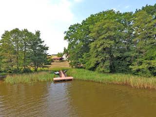 Ferienwohnungen direkt am See Useriner Mühle SEE 10330 Blick über den See