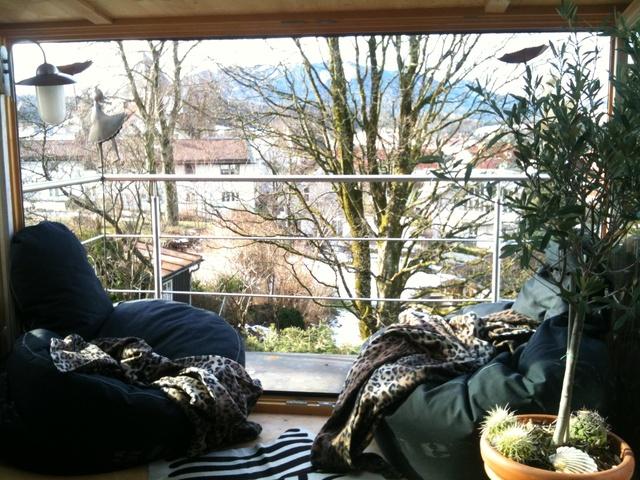 Kuschelecke im Dach