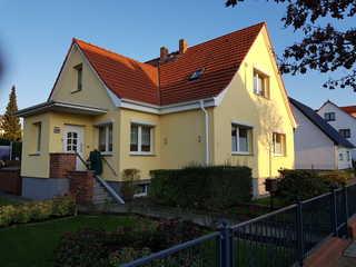 Ferienwohnung in Ahlbeck Wohnhaus des Vermieters mit 2 Ferienwohnungen