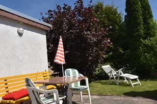Ferien-Bungalow Stove OVS 772 Sitzecke am Bungalow