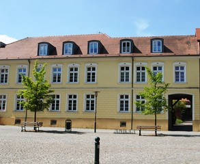 Ferienwohnung Hagin/Burgplatz Toreingang