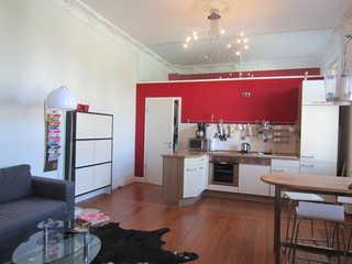 Villa Eisenrose Wohnbereich mit offener Küche