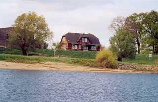 Ferienwohnung Kornblume Das Haus der Gastgeber mit der Ferienwohnung Ko...