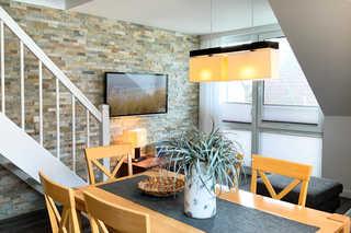 Residenz am Strand, Whg 355 gemütlicher Wohnraum mit offener Küche