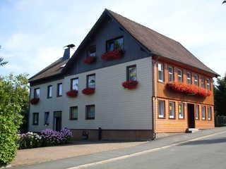 Gästehaus Ehrenberg Ferienwohnungen Blick auf das Gästehaus Ehrenberg