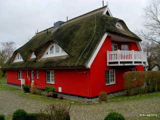 Landhaus Uhlenhof 4 Hausansicht von hinten