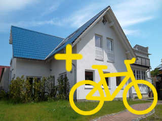 Ferienzimmer KAI mit Fahrradverleih