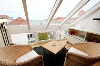 Haus Jahreszeiten, Whg. 24 Meerblick Lounge