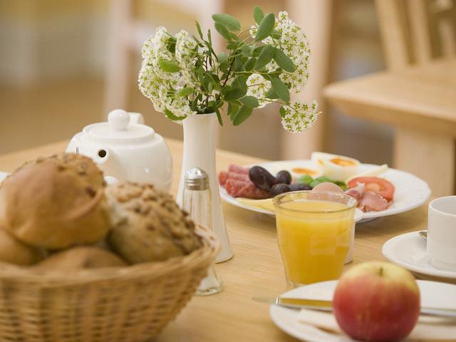 Lust auf Frühstück? Kommen Sie zu unserem Buffet.