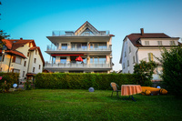 Haus Seeblick am Bodensee Haus Seeblick - Blick vom Garten
