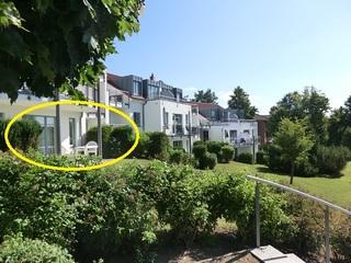 Appartement Residenz Bellevue Whg.24 DSL-WLAN kostenlos Lage der Wohnung große Terrasse