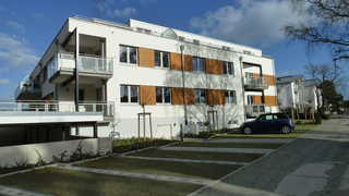 Blaubärstrand Außenansicht des Gebäudes