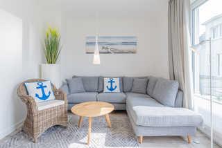 Strandhaus WE 01 Wohnbereich
