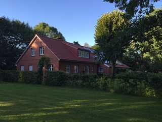 Ferienwohnung Hinrichs, Filsum, 55170 Gesamte Haus mit Fereinwohnung im Hinterende