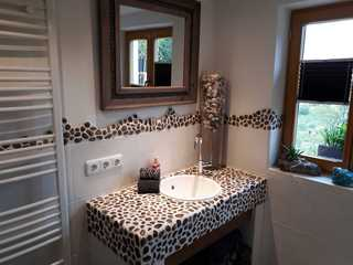 Chic & Blick Die Ferienwohnung Badezimmer/ Waschbecken