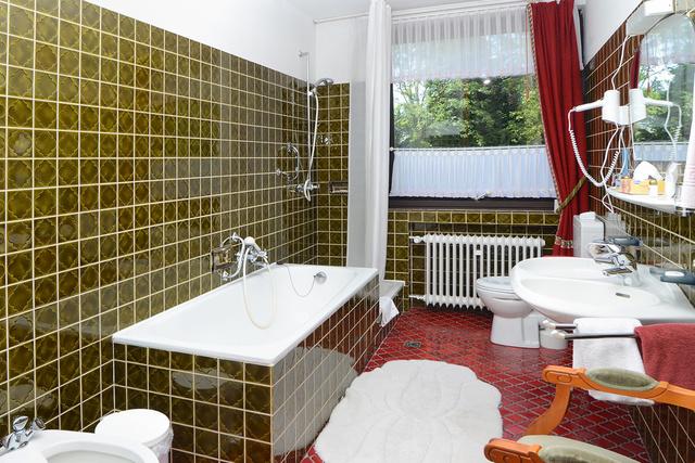 "Landhaus Helmboldt ""Appart. Romantik"" Badezimmer"