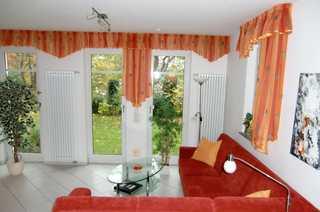 Appartement Sonneninsel Wohnzimmer