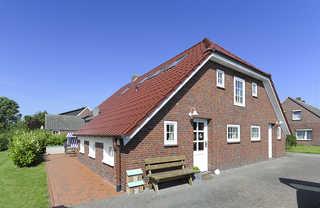 Landhaus Seestern in Werdum Außenansicht