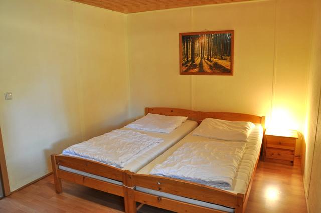 Bungalow Schlafzimmer