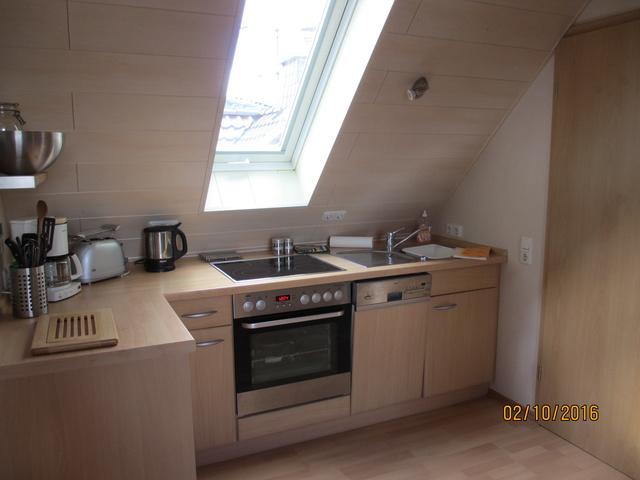 Küche FeWo IV Studio