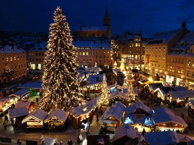 Ferienhaus Karin- Weihnachtsmarkt in Annaberg- Buc
