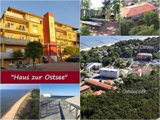 Zempin **FERIENRESIDENZ ZUR OSTSEE**WE 14**150m zum Strand** Haus zur Ostsee mit Grillplatz & Parkplatz