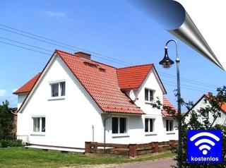 Ferienwohnungen auf Usedom Hausansicht - sonnige Südseite