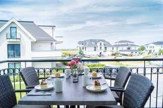 Haus Strandhafer WE 06 Utspann Balkon