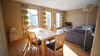 Ferienwohnung Ökolounge Wohnzimmer