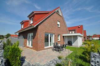 Nr. 135 - Ferienhaus Wattfieber In't Seeburger Winkel Garten / Terrasse