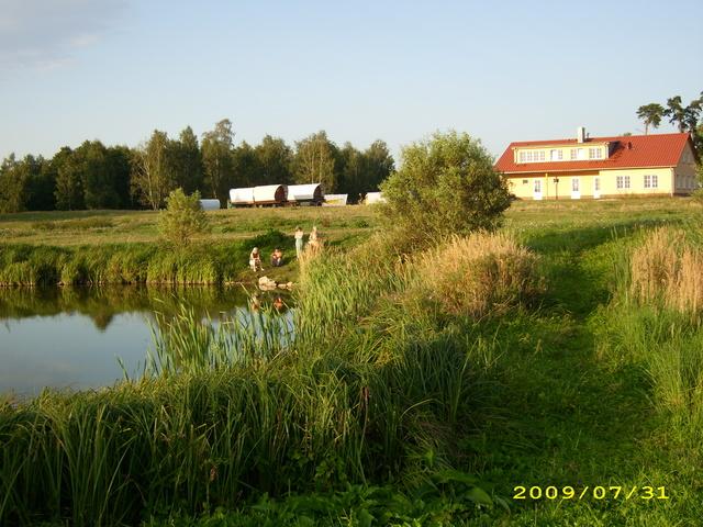 Ferienbauernhof und Planwagencamping Angelteich
