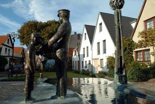 Warnemünde: Ferienwohnung in der Altstadt (G) Blick auf die Ferienwohnung