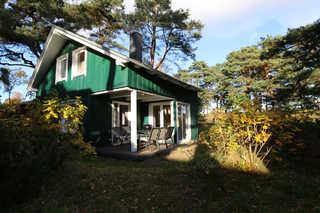 W: Strandhaus Dünenweg 17b mit Terrasse/Kamin Hausansicht