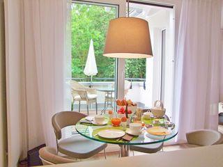 F: Haus Meeresblick A 4.03 Urlaubsglück mit Dachterrasse Schöner Esstisch